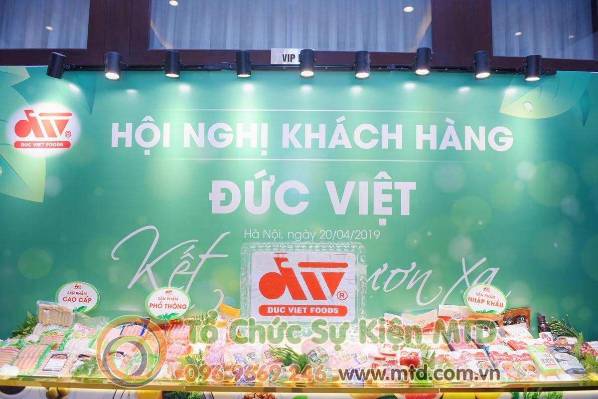 Hội Nghị Khách Hàng Đức Việt Foods