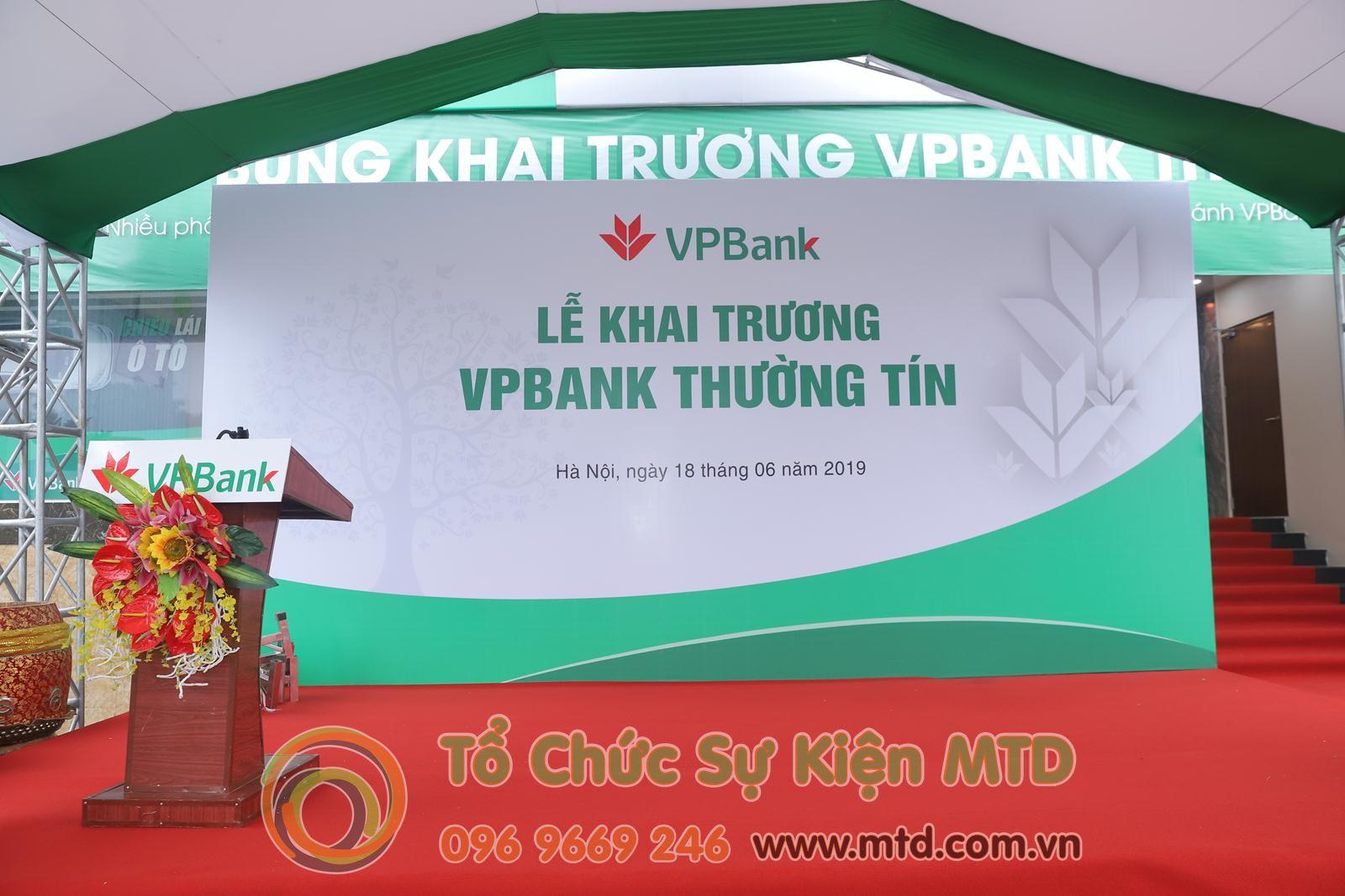 Lễ Khai Trương VP Bank