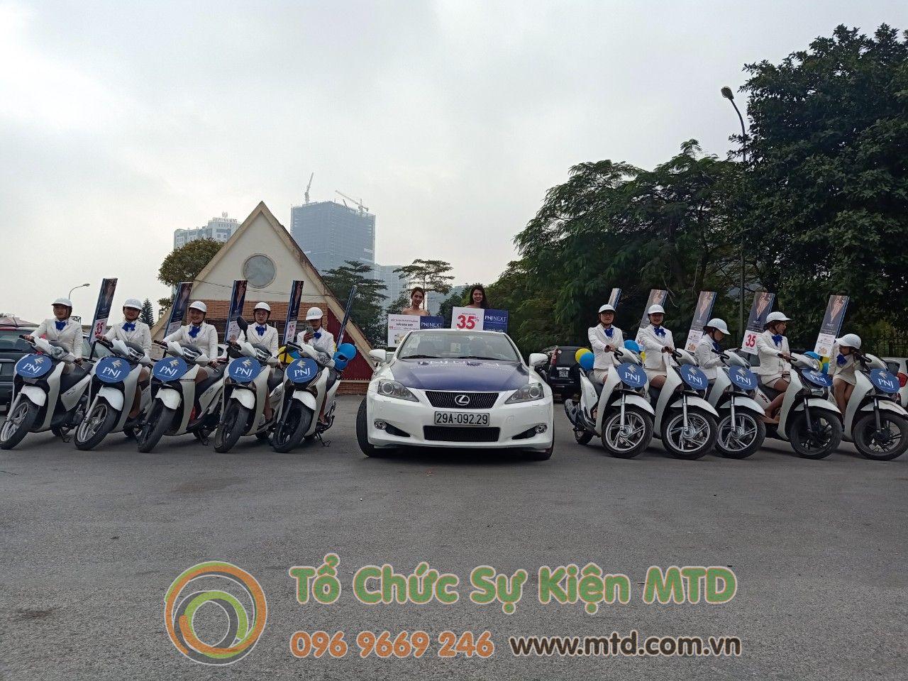 Roadshow Xe Mui Trần & SH PNJ Next